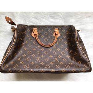 Louis Vuitton Handbags - LOUIS VUITTON SPEEDY 35 MONOGRAM CANVAS