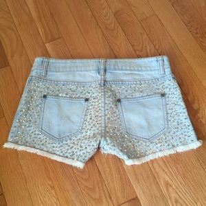 LaRok Pants - LaROK Sequined Shorts