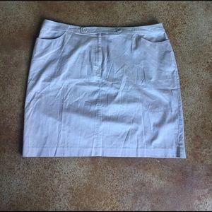 Spiegel Dresses & Skirts - Spiegel 24W khaki skirt