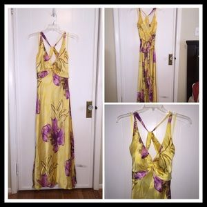 Cache Dresses & Skirts - STUNNING ....Cache silk floral gown