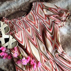 Alex Marie Dresses & Skirts - Alex Marie Geo Print A-Line Dress