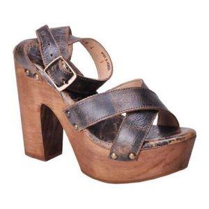 Bed Stu Shoes - Bed Stu Madeline Wooden Heel