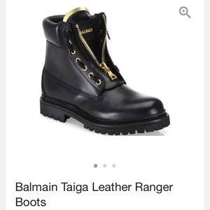 Balmain Shoes - Balmain Taiga Black boots