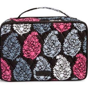 Vera Bradley Large Blush&Brush Cosmetics Case