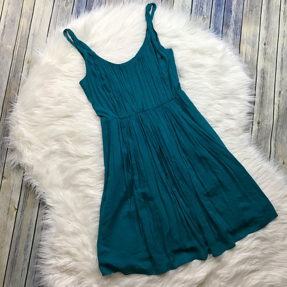 Madewell Dresses & Skirts - Madewell Teal Flowy Sun Isle Dress
