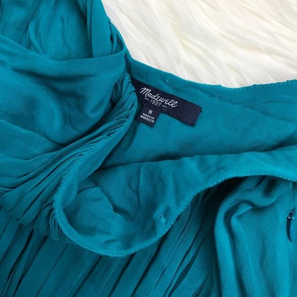 Madewell Dresses - Madewell Teal Flowy Sun Isle Dress
