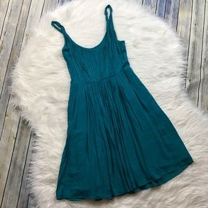 Madewell Dresses - Madewell Teal Flowy Sun Isle Dress