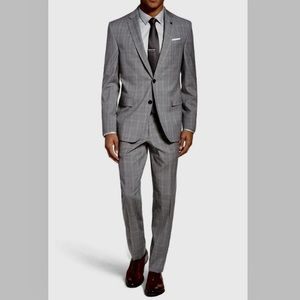 John W. Nordstrom Other - Sexy Suit NWOT John W Nordstrom 46R/40W greyplaid