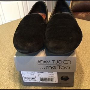me too Shoes - Adam Tucker ...Me Too loafer Black suede 9.5m