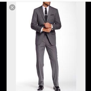 Hart Schaffner Marx Other - Hart Schaffner Marx NWOT luxury suit charcoal grey