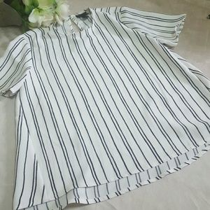 who what wear  Tops - WHO WHAT WEAR BLOUSE SIZE XS