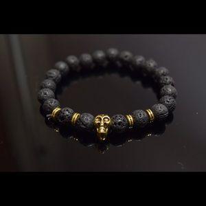 Other - Men's Bracelet Skull Prayer Beads