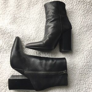 Aldo Shoes - {aldo} pointy toe leather ankle booties