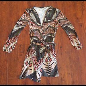 Tart Dresses & Skirts - Tart Printed Wrap Dress