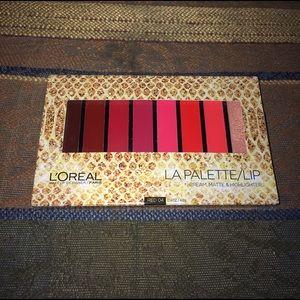 L'Oreal Other - L'Oréal La Palette Lip Red 04 Cream Matte