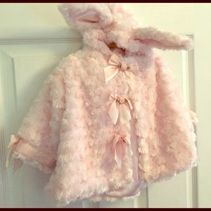 Other - Super soft Easter bunny girls jacket