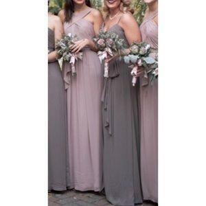 Dusty Pink Prom Dress by WATTERS $260