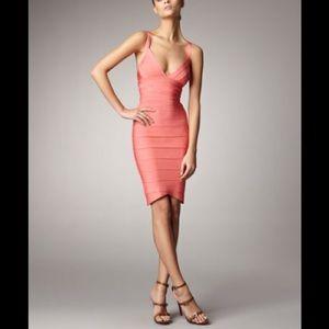 Herve Leger Dresses & Skirts - Herve Leger coral dress