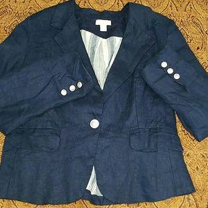 St. Tropez Jackets & Blazers - MD St. Tropez WEST Jacket Blazer