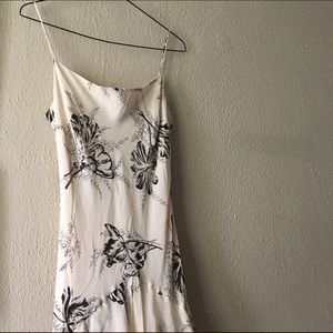 Lapis Dresses & Skirts - Floral Silk Maxi Dress