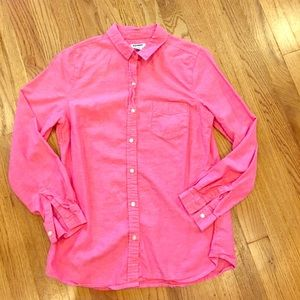Old Navy 100% cotton lightweight casual button up