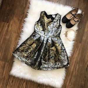Children's Place Other - The Children's Place Gold/Silver Party Dress