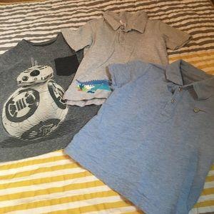 Zutano Other - 3-4t shirt bundle zutano baby gap Star Wars