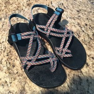 Chacos Shoes - Rainbow Chacos