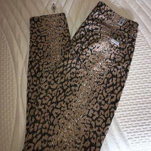 7 For All Mankind Denim - NWOT 🖤7FAM - leopard print skinnys!!!