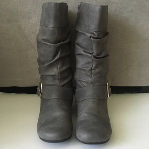 """Kenneth Cole Shoes - Kenneth Cole Unlisted """"Call Back"""" Mid Calf Boots 5"""