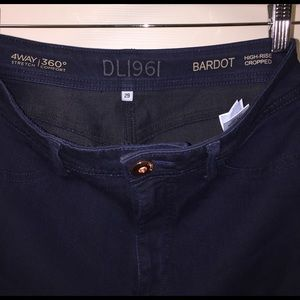 DL1961 Denim - DL1961 Bardot High rise cropped jeans