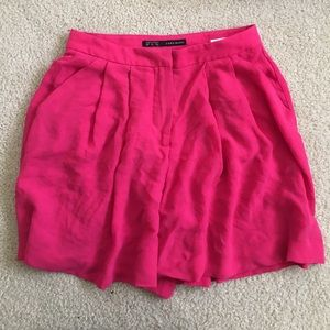 Zara high waisted shorts