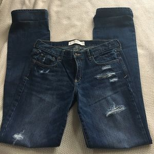 Abercrombie & Fitch Denim - Abercrombie and fitch jeans boot cut.