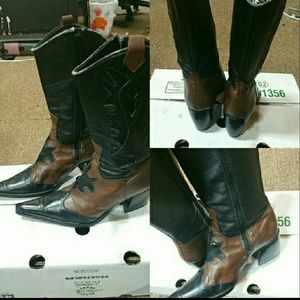 Shoes - Black and brown boots