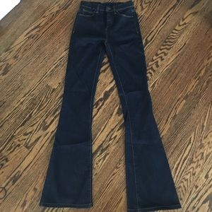 Blank NYC Denim - Blank NYC flares with zip fly