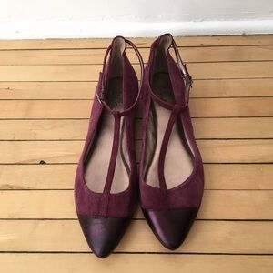 Belle by Sigerson Morrison Shoes - Belle by Sigerson Morrison Suede Flats
