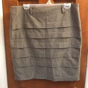 AGB Dresses & Skirts - NWOT AGB Tan Pencil Skirt 10