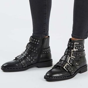 Topshop Shoes - NWOT Topshop studded ankle boots