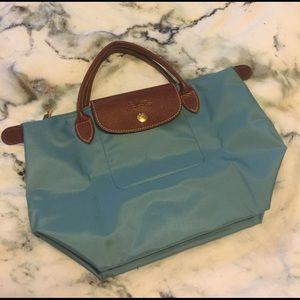 Longchamp Handbags - Light Blue Small Longchamp Purse