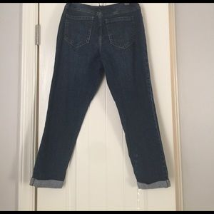 Old Navy Denim - Maternity Old Navy cropped and cuffed jeans