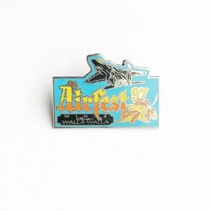 Vintage Accessories - '97 Airfest Enamel Pin