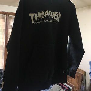 Thrasher x huf hoodie