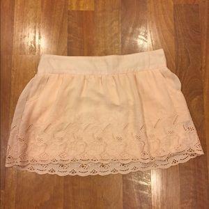 Stoosh Dresses & Skirts - Lace Blush Skirt