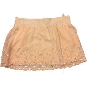 Stoosh Dresses & Skirts - 🔥1 Hour Price Drop🌸Lace Blush Skirt
