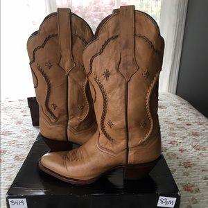 Dan Post Shoes - Dan Post Palomino Chain Lace Boots Size 8.5