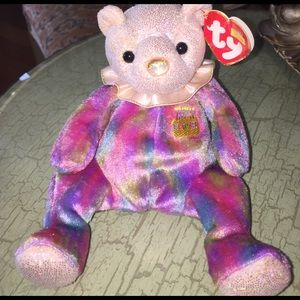 Other - Brand New TY October baby birthday plush bear