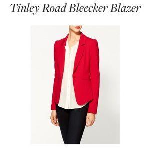 Tinley Road Bleecker Blazer, Red, Large, EUC