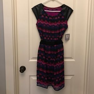 Andrew Marc Dresses & Skirts - Belted dress women's size 6