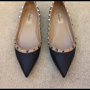 Valentino Shoes - Valentino Rockstud Flats