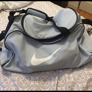 Light Blue Large Nike Duffel
